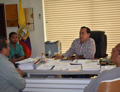 PRESIDENTE DE LA ASAMBLEA PROVINCIAL DEL CONSEJO DE PARTICIPACIÓN CIUDADANA Y CONTROL SOCIAL VISITÓ AL BURGOMAESTRE DE VENTANAS