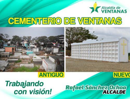 SE CONSTRUYE NUEVO CAMPOSANTO EN LA CIUDAD