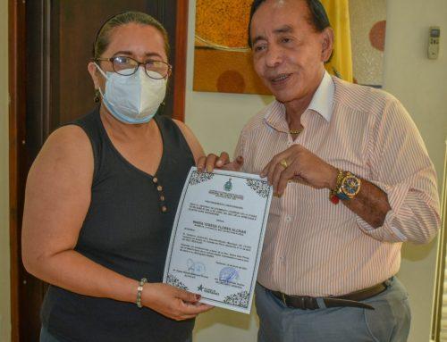 GAD DE VENTANAS ENTREGÓ ACUERDO DE CONDOLENCIAS A LA CONCEJALA SULMA VERA FLORES